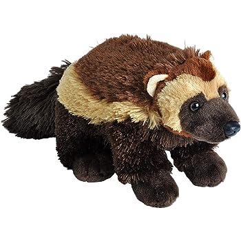Wild Republic Honey Badger Plush Cuddlekins 12 Inches Gifts for Kids Stuffed Animal Plush Toy