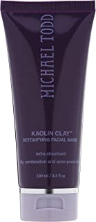 Michael Todd Kaolin Clay Detoxifying Facial Mask Regular Strength for Oily, Combination and Acne-Prone Skin, 3.4 Fl Oz