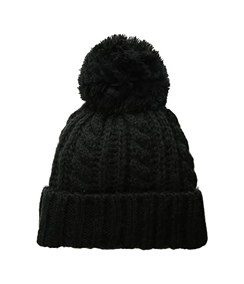 502753ea4d9 Hat Attack Soft Cable Beanie with Knit Pom at Zappos.com