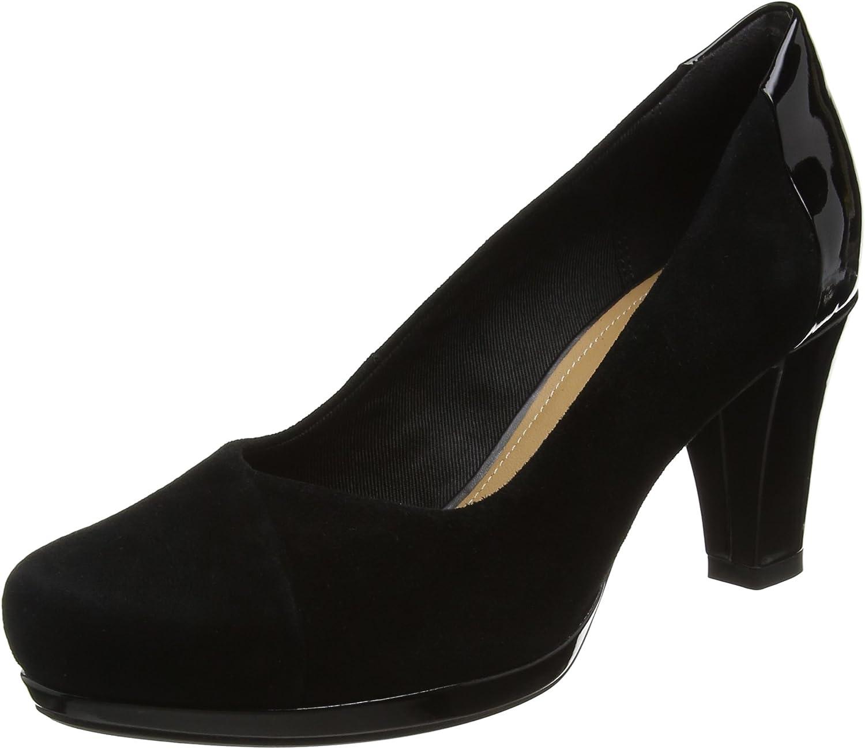 Clarks shoes 26128819 Chorus Carol Black