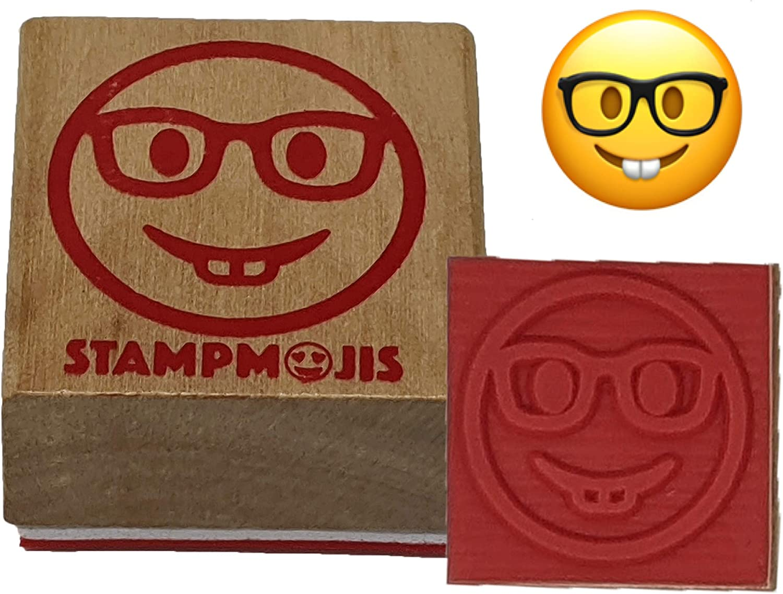 Stampmojis Individual Emoji Stamp - Fun Sta Teacher Cheap super special price Nerd San Diego Mall