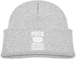 Puck The Halls with Lots of Slapshots Beanie Hat Infant