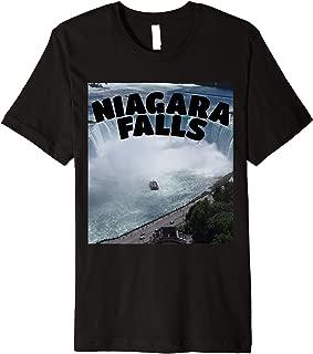 Niagara Falls T-shirt Canada USA funny Typography Souvenir