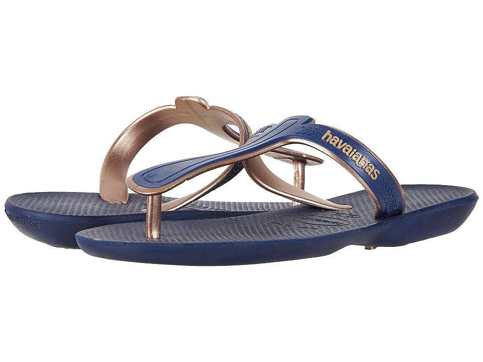 Havaianas Casual Flip-Flops (Navy Blue) Women