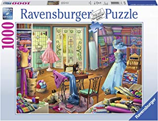 Ravensburger Seamstress Shop 15276 1000 Piece Puzzle for Adults, Every Piece is Unique, Softclick Technology Means Pieces Fit Together Perfectly