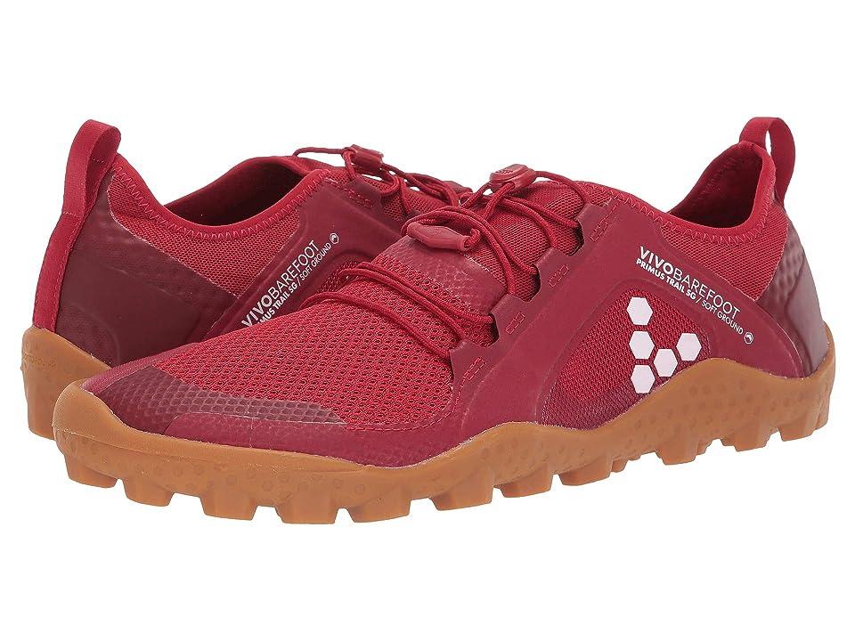Vivobarefoot Primus Trail (Red/Gum) Men