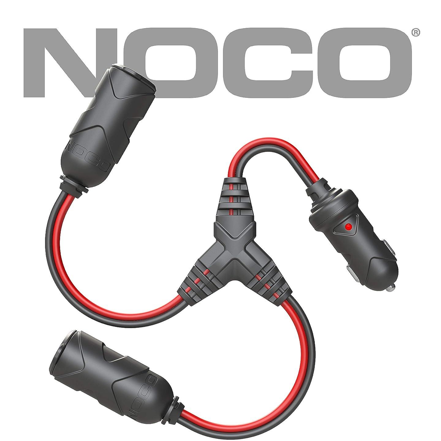 NOCO GC020 12V Adapter Plug Socket 2-Way Splitter
