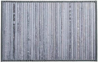 Somier de bambú con listones gris claro 50X80: Amazon.es: Hogar