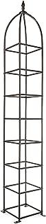 H Potter Trellis Obelisk for Climbing Garden Plants Weather Resistant Iron and Metal Vertical Yard Art GAR470