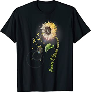 Meniere's Disease Awareness Sunflower TShirt