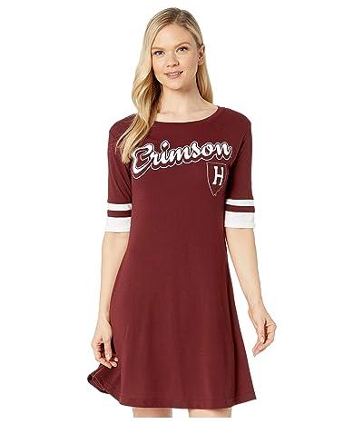 Champion College Harvard Crimson Field Day Dress (Maroon/White) Women
