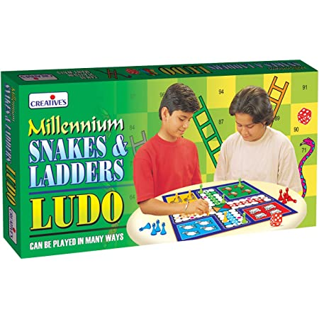 Millennium Snakes & Ladders Ludo