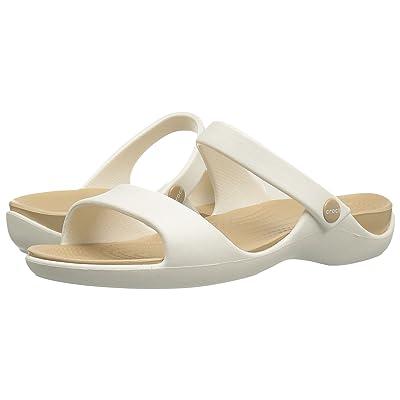 Crocs Cleo V (Oyster/Gold) Women
