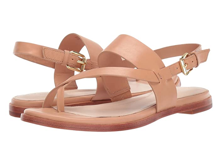 Cole Haan  Anica Thong Sandal (Sahara) Womens Dress Sandals