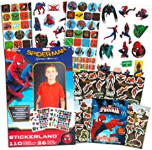 Spider-Man Stickers and Tattoos - More than 4 Sheets