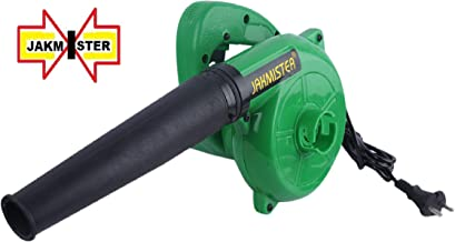 Jakmister Unbreakable Plastic 600 W 80 Miles/Hour Electric Air Blower Duster PC Cleaner (Standard Size, Green)