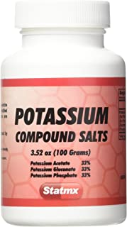 Statmx Potassium COMPOUND SALTS 100 grams (for daily Juices or enemas)
