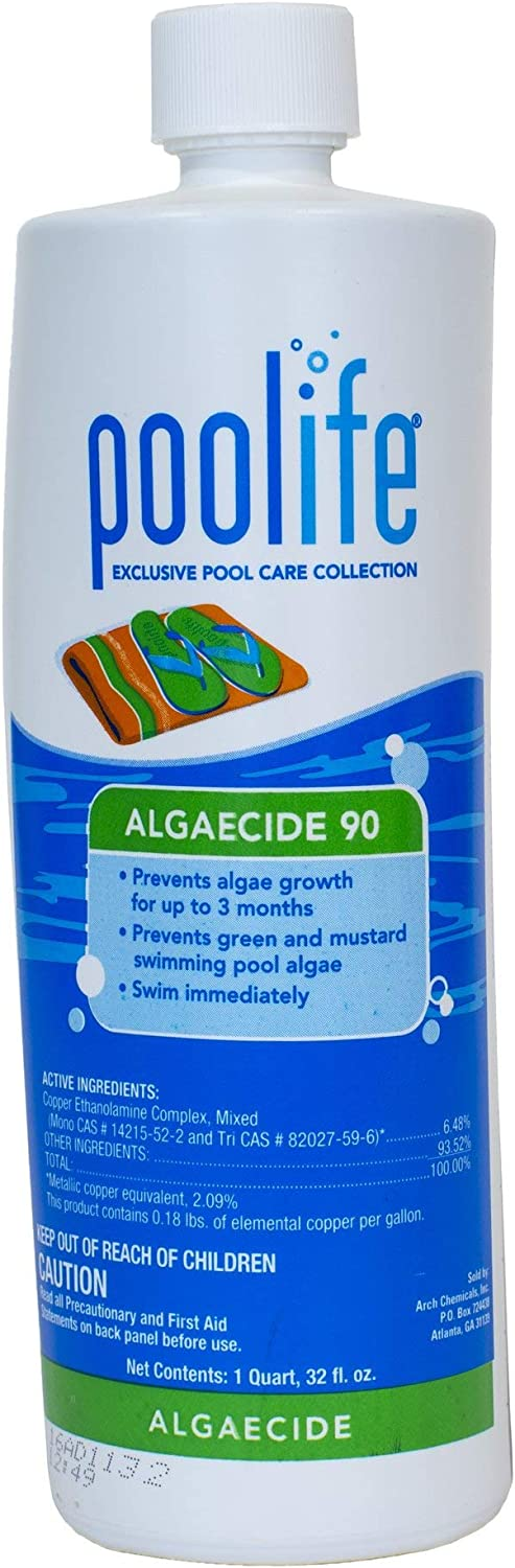 poolife Algaecide 90 online shopping 1 Weekly update qt