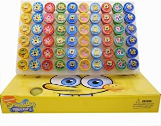 SpongeBob SquarePants Self-Inking Stamps / Stampers Party Favors (10 Counts) by GoodyPlus
