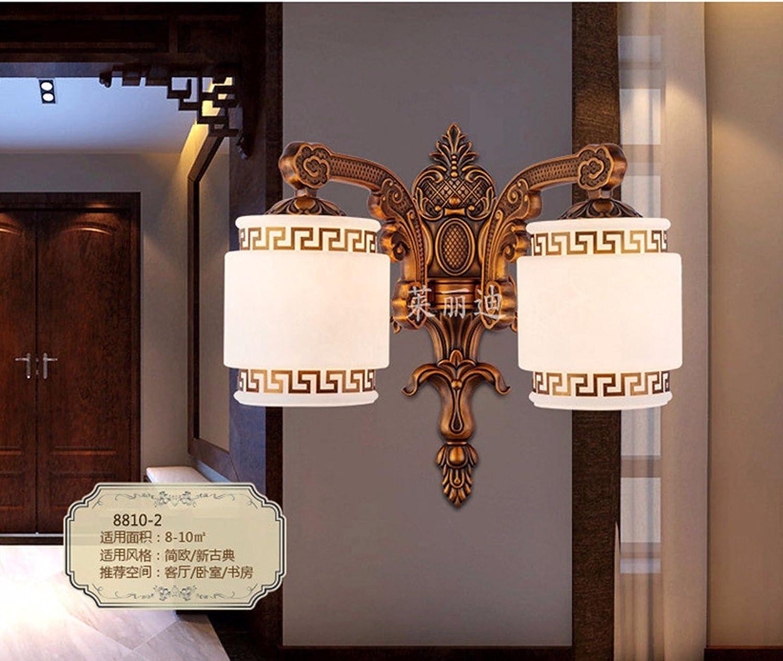 StiefelU LED Wandleuchte nach oben und unten Wandleuchten Kupfer Wandleuchte, 55x43cm