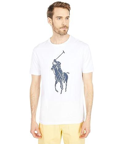 Polo Ralph Lauren Classic Fit Graphic Tee Shirt (White) Men