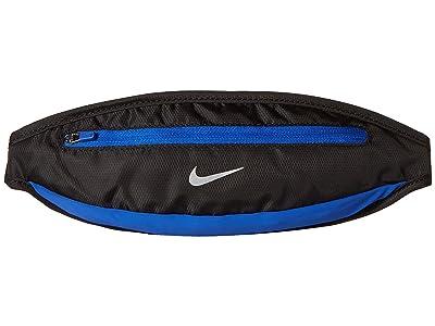 Nike Capacity Waistpack 2.0 Small (Black/Game Royal/Silver) Handbags
