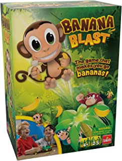 Banana Blast - Pull The Bananas Until The Monkey Jumps Game by Goliath