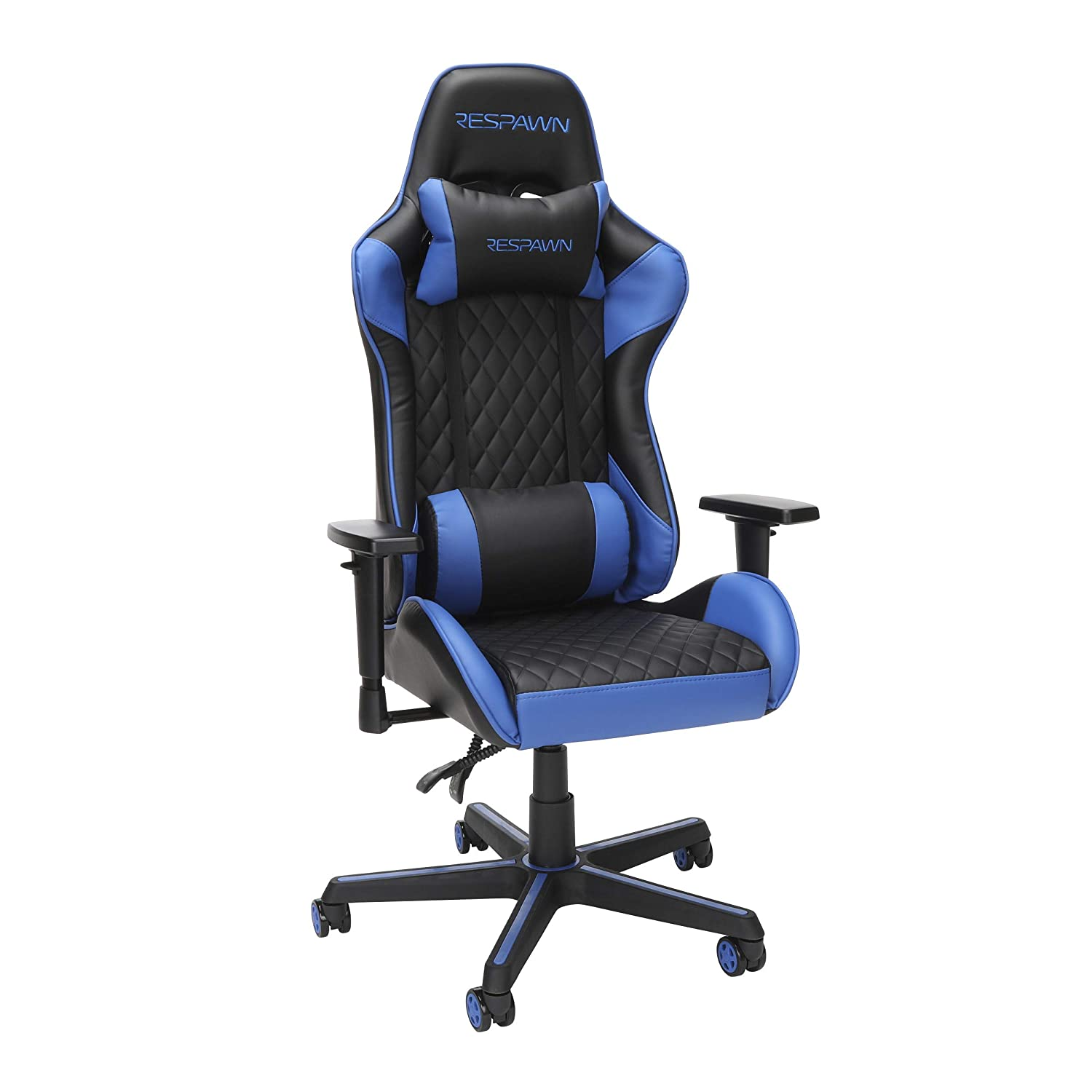 RESPAWN Ranking TOP16 100 Racing Style Gaming Chair in Blue RSP-100-BLU 40% OFF Cheap Sale