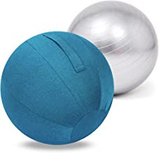 Oefenbal, Pilatesbal, Bevallingsbal voor Zwangerschap, Balans & Yoga, 55cm/65cm/75cm Swiss Ball, Workout Anti Burst en ant...