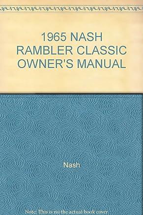 Other Car Manuals 1965 AMC RAMBLER AMBASSADOR OWNERS MANUAL ...