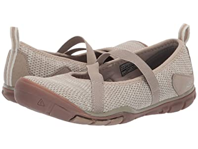 Keen Hush Knit MJ CNX (Plaza Taupe/Silver Birch) Women