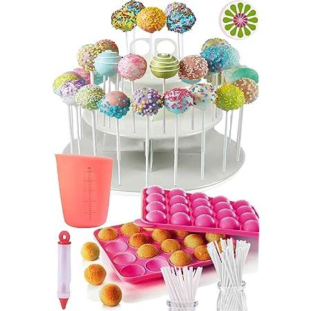 Letter F Lollipop Plastic Mold Resin Mold Upper case Supplies Circle Round Alphabet Chocolate Fondant Lolli pop Stick Molds for Resin