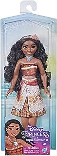 دمية موانا رويال شيمر من ديزني برينسيس، دمية عصرية مع تنورة واكسسوارات، لعبة للاطفال من سن 3 سنوات فما فوق