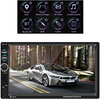 WFF56 7 Inch Touch Screen Full HD 1080P Navigation for Car Truck Car GPS Navigation for Car Handsfree <br>