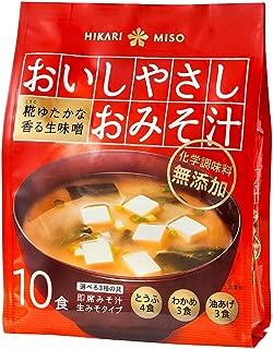 ひかり味噌 おいしやさしおみそ汁 10食×6個
