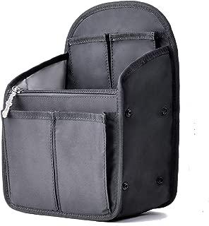 Pawaca Sac de rangement en feutre avec 9 poches pour cosm/étiques cartes de cr/édit caf/é cl/és