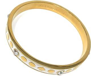 Kate Spade New York Spot The Spade Bangle Bracelet O0RU1339 White