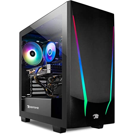 iBUYPOWER Gaming PC Computer Desktop Trace 4 9310 (AMD Ryzen 5 3600 3.6GHz, AMD Radeon RX 5500 XT 4GB, 8GB DDR4 RAM, 240GB SSD, Wi-Fi Ready, Windows 10 Home)