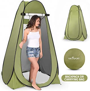 Best Pop Up Privacy Tent – Instant Portable Outdoor Shower Tent, Camp Toilet, Changing Room, Rain Shelter with Window – for Camping and Beach – Easy Set Up, Foldable with Carry Bag – Lightweight and Sturdy Review