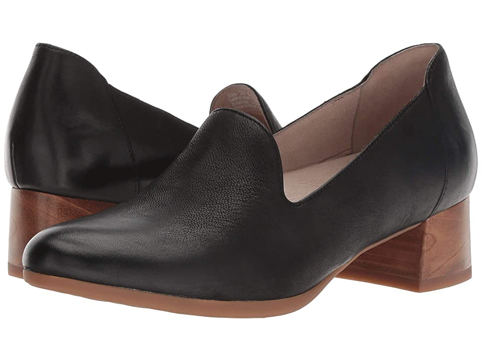Dansko Preston (Black Burnished Nubuck) Women