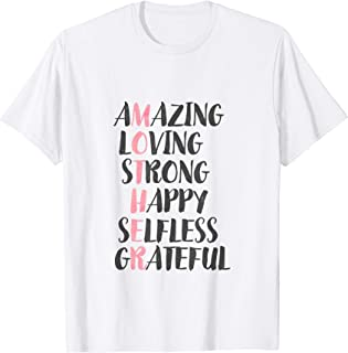 Mother Acronym Shirt Best Mothers Day Gift Idea for Mom Wife