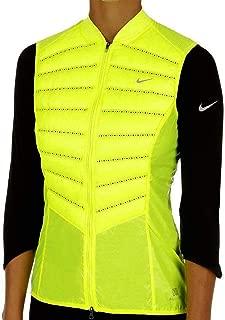 Aeroloft 800 Women's Running Vest, Volt/Reflective Silver, Small