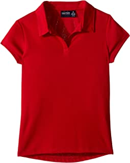 Short Sleeve Performance Polo (Big Kids)