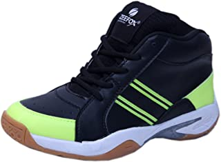 ZEEFOX 0090F Men's Basketball Shoes Black/Green