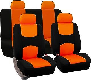 burnt orange leather car seats