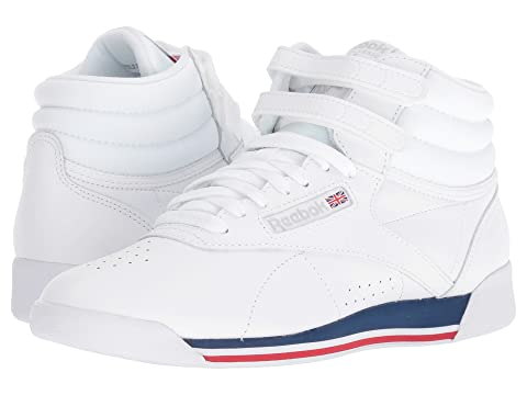 Cheap Sale Release Dates Reebok Lifestyle Freestyle Hi White/Bunker Blue/Primal Red/Skull Grey Clearance Big Sale 9YcW0