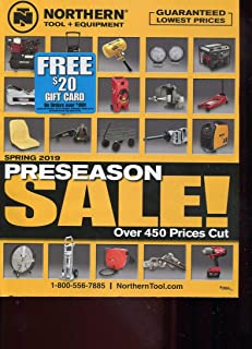 NORTHERN TOOL & EQUIPMENT CATALOG SPRING 2019 /ILLUSTRATED+++