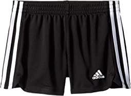 3 Stripe Mesh Shorts (Toddler/Little Kids)