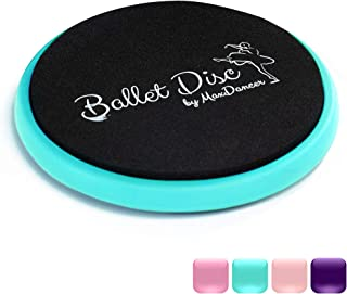 Ballet Turning Disc for Dancers, Gymnastics and Ice Skaters. Portable Turn Board for Dancing on Releve. Make Your Turns, P...