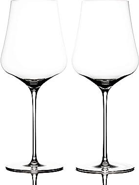 "Bundle - 2 items: Gabriel-Glas - Set of 2 - Austrian Crystal Wine Glass -""StandArt"" Edition, Wine Enthusiast Microfib"
